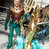Aquamn and Seahorse