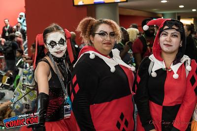NY Comic Con 2017 Harley Quinn Shoot