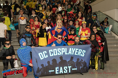NY Comic Con 2017 DC Universe (Sunday)