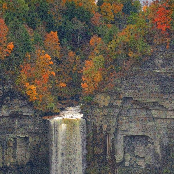 Taughannock Falls - Detail #1
