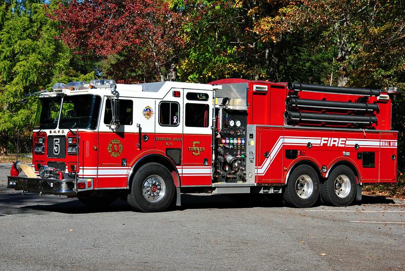 Bedford Hills Fire Department Tanker 5