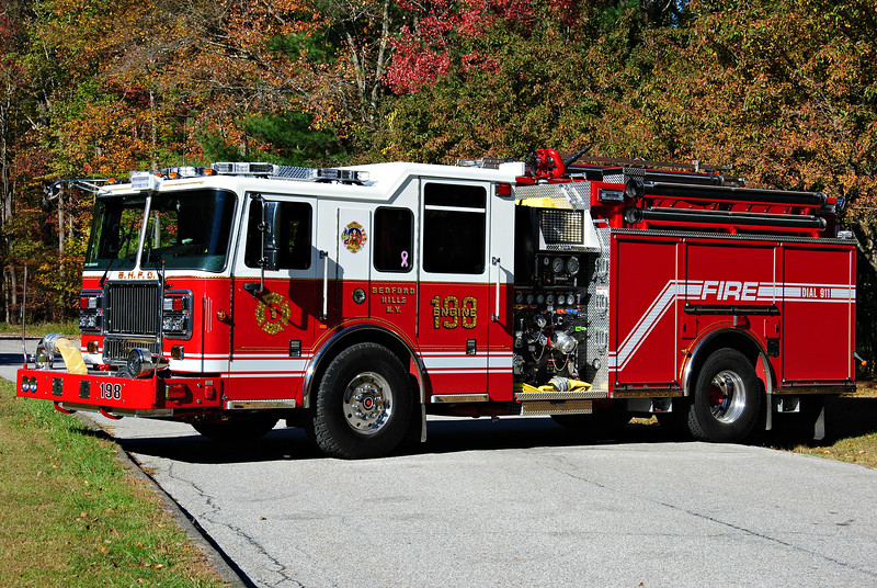 Bedford Hills Fire Department Engine 198