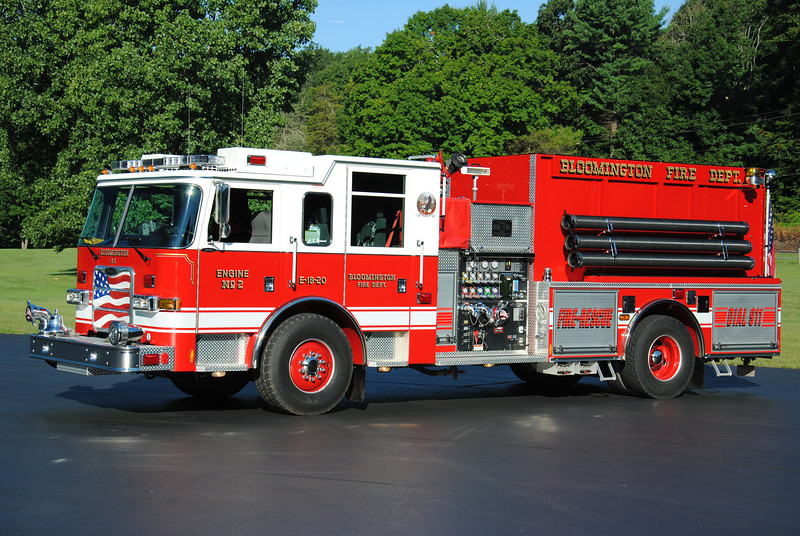 Bloomington Fire Department Engine 18-20