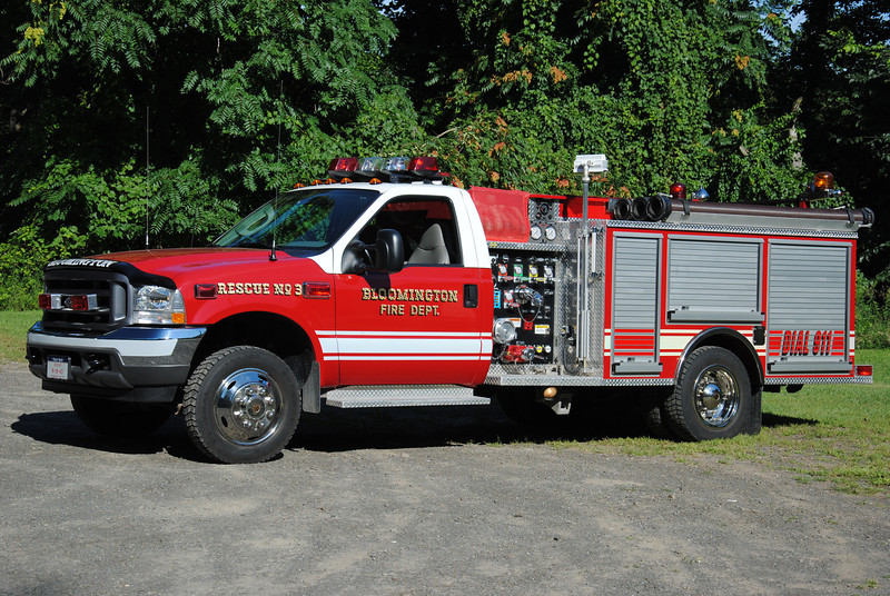Bloomington Fire Department Mni Engine 18-43