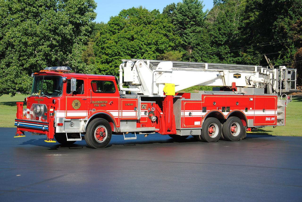 Bloomington Fire Department Ladder 18-50