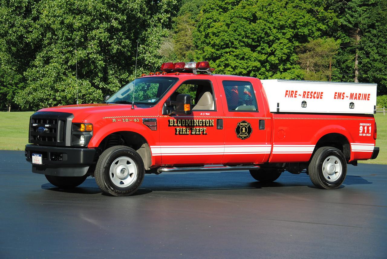 Bloomington Fire Department First Responder 18-41