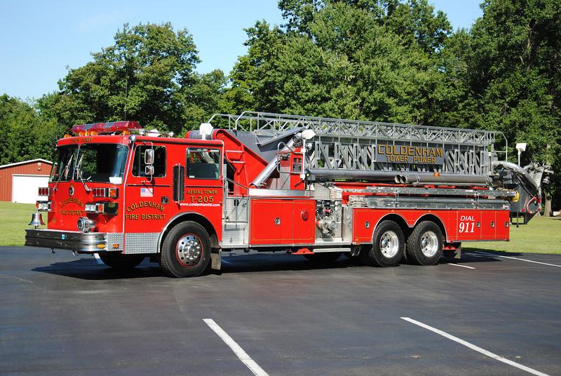 Coldenham Fire District Tower 205