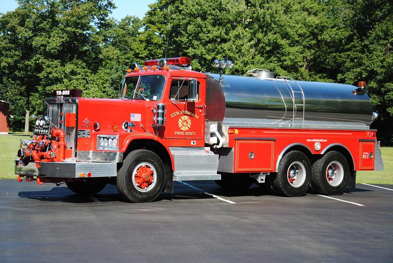 Coldenham Fire District Tanker 202