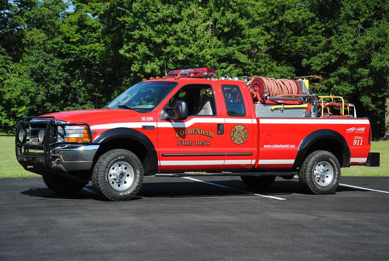 Coldenham Fire District Brush 206