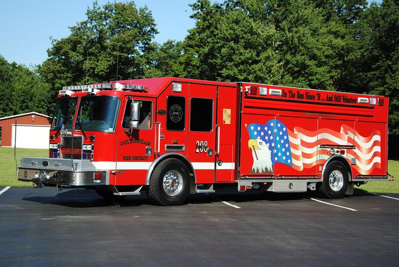Coldenham Fire District Rescue 208