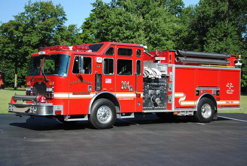 Coldenham  Fire District  Engine 204