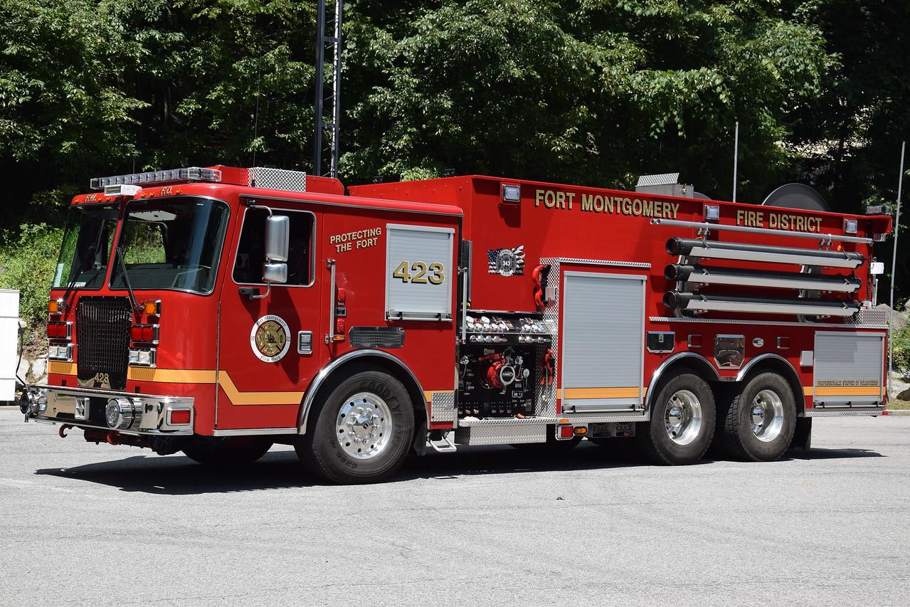 Fort Montgomery Fire Department Tanker 423