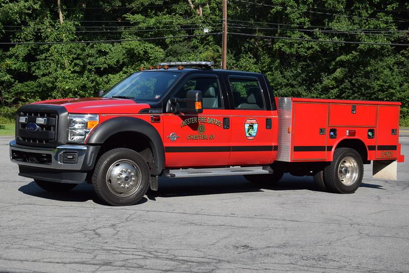 Trout Brook Engine & Hose Company Utility 921