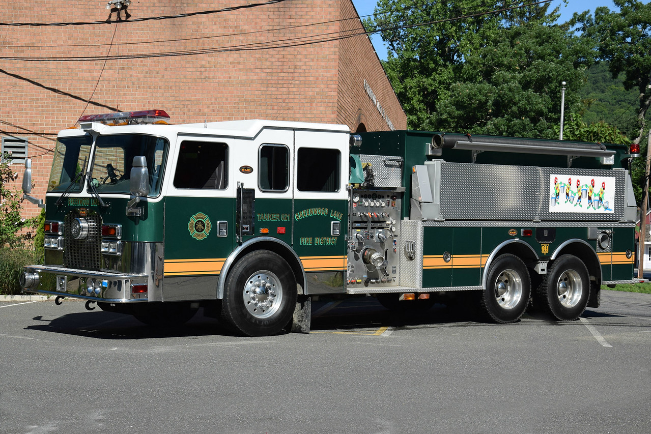 Greenwood Lake Fire Department Tanker 621