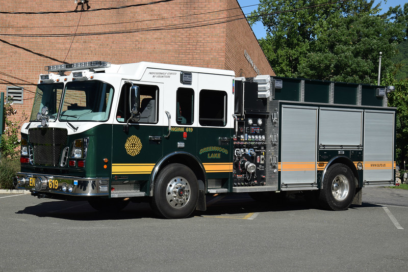 Greenwood Lake Fire Department Engine 619
