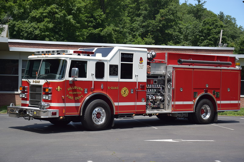 Hillburn Fire Department 5-Quad