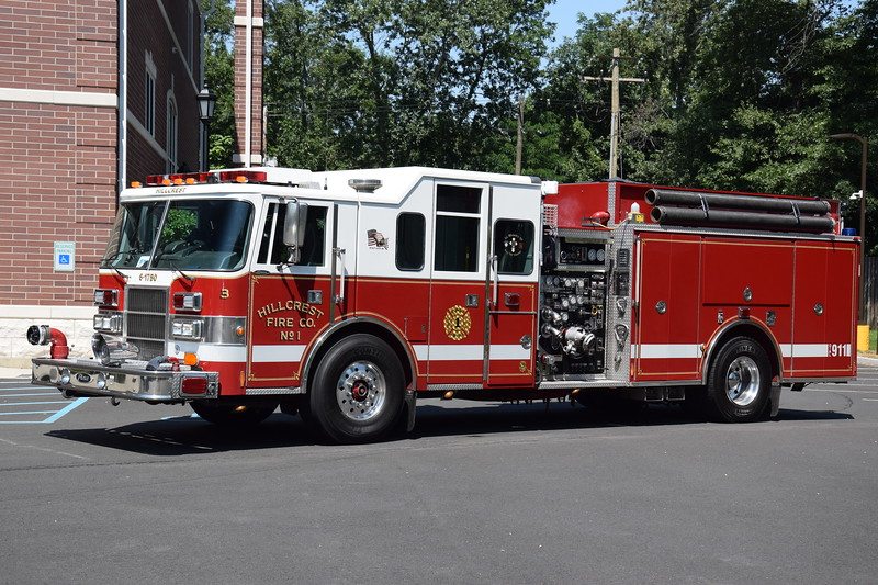Hillcrest Fire Company #1 6-1750