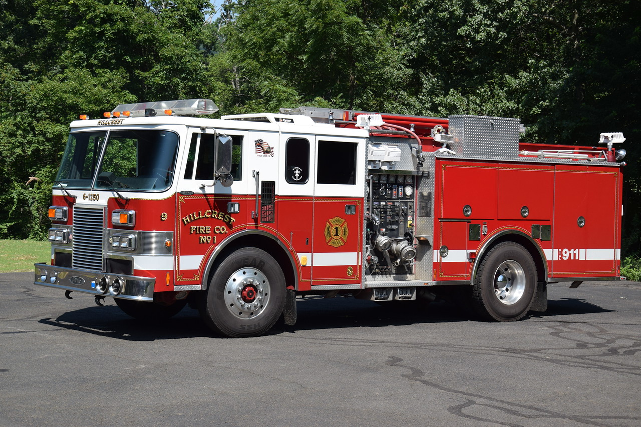 Ex-Hillcrest Fire Company #1 6-1250