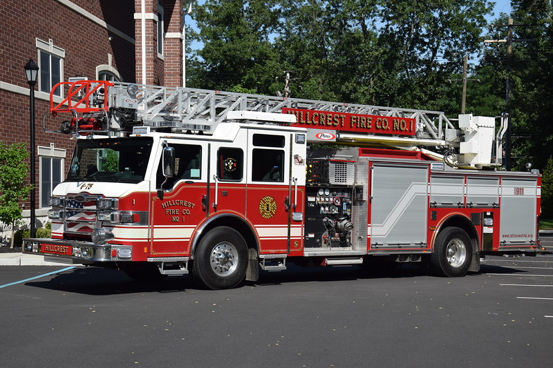 Hillcrest Fire Company #1 6-75