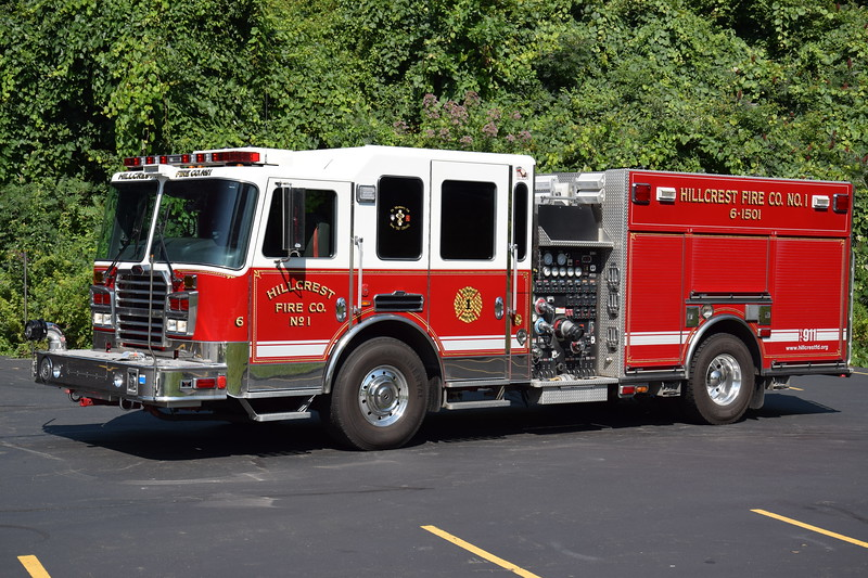 Hillcrest Fire Company #1 6-1501