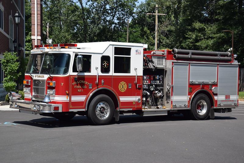 Hillcrest Fire Company #1 6-Tanker
