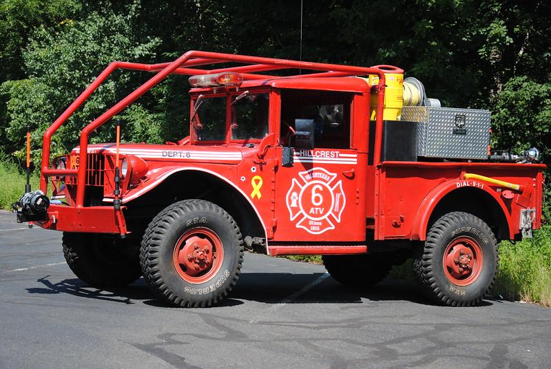 Hillcrest Fire Company #1 6-ATV