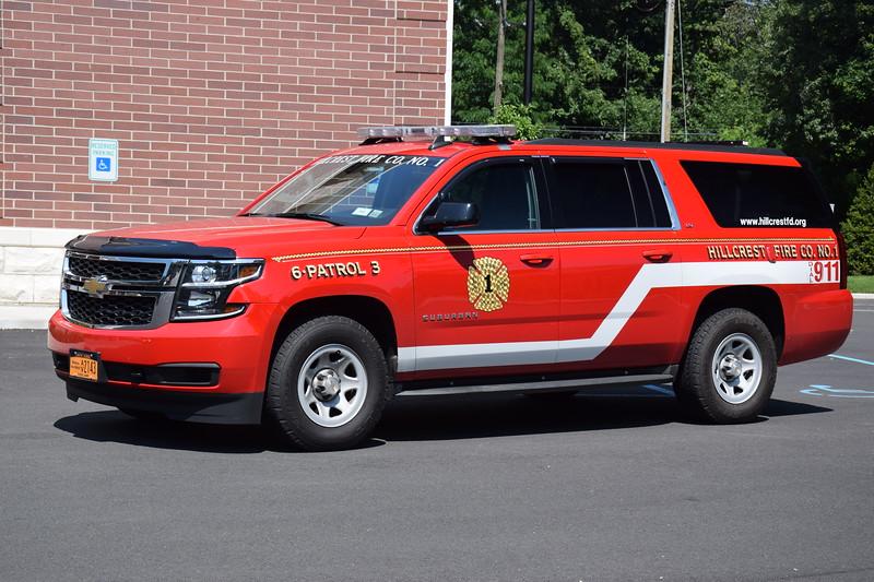 Hillcrest Fire Company #1 6-Patrol 3