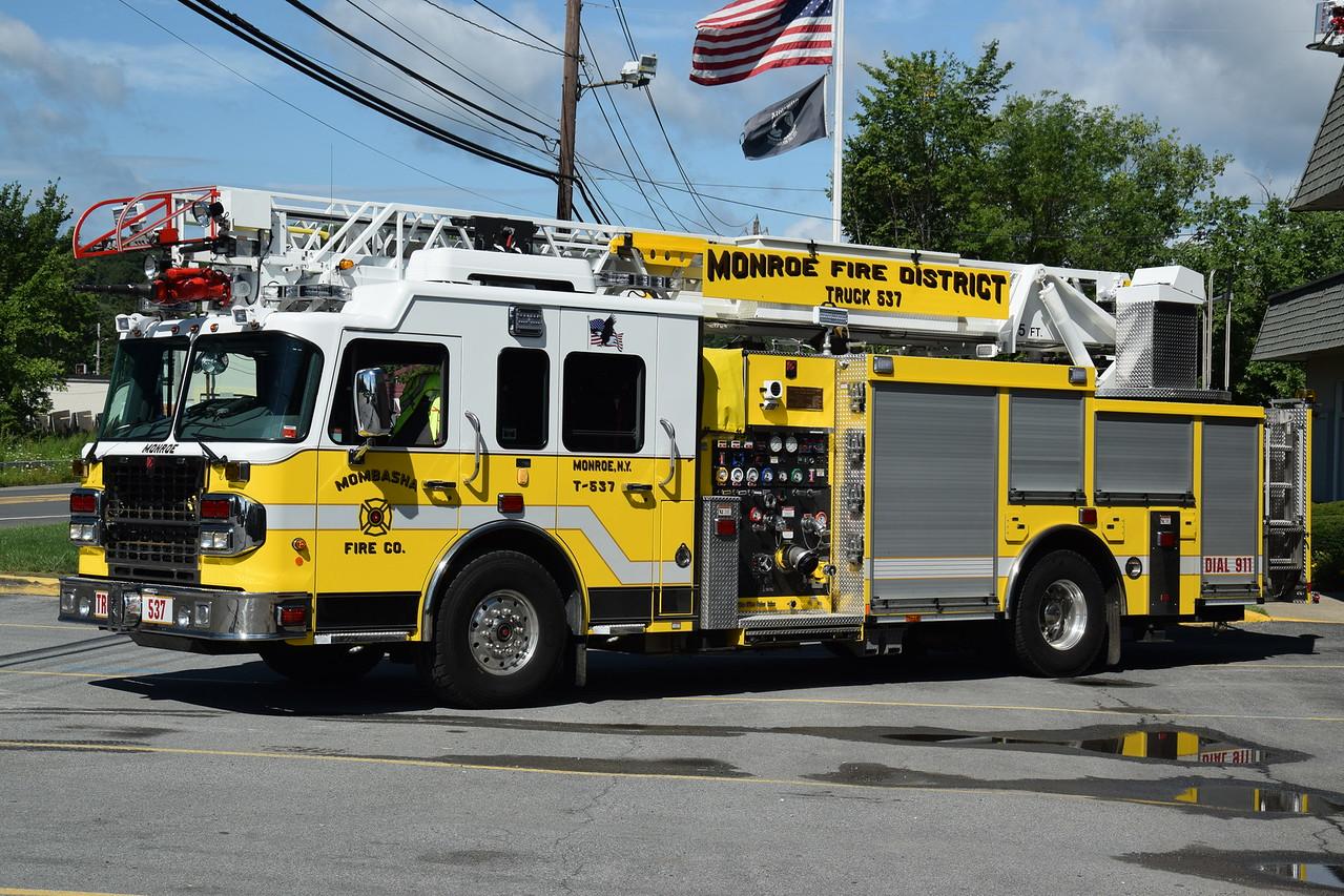 Mombasha Fire Company Truck 537