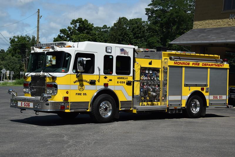 Mombasha Fire Company Engine 536