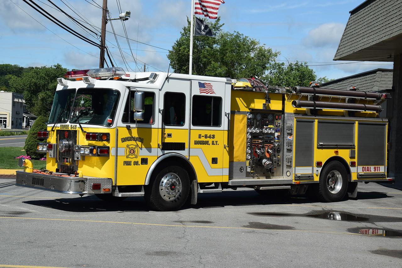 Mombasha Fire Company Engine 543