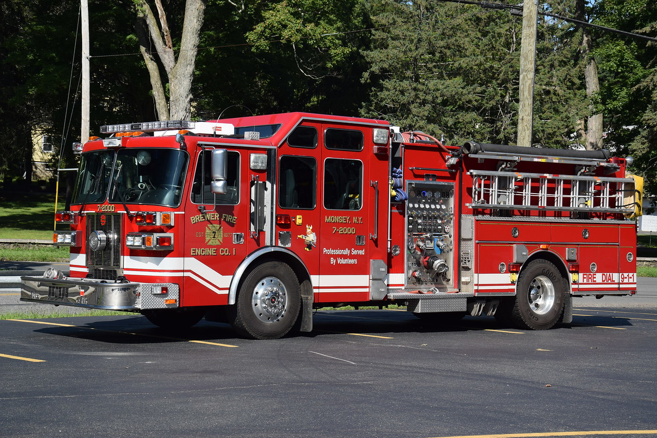 Brewer Fire Engine Company #1, 7-2000