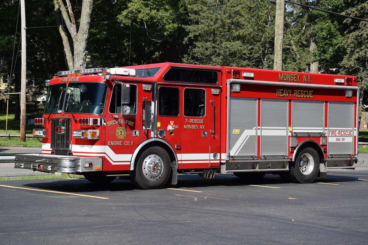 Brewer Fire Engine Company #1, 7-Rescue
