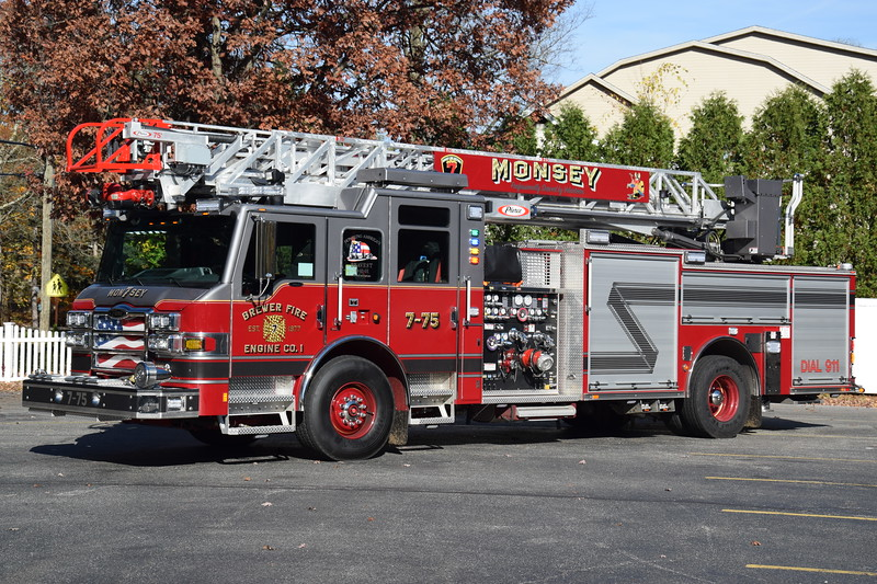 Brewster Fire Engine Company #1 7-75