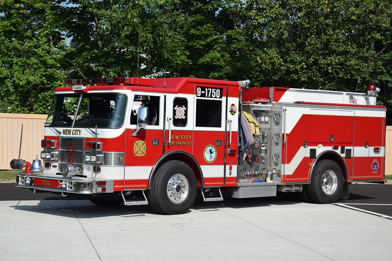 New City Fire Department 9-1750