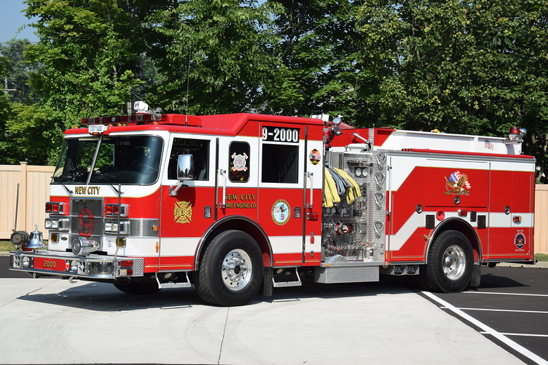 New City Fire Department 9-2000