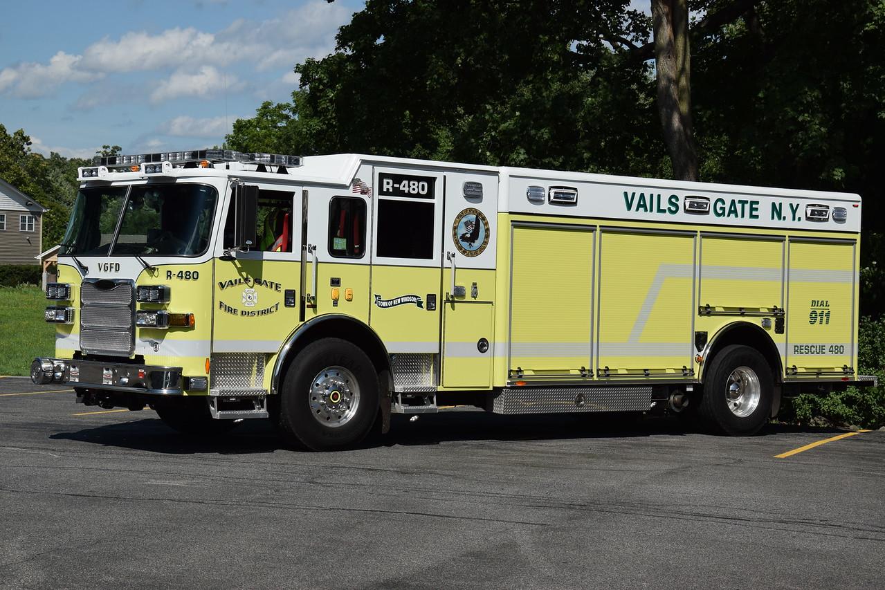 Vails Gate Fire Department Rescue 480