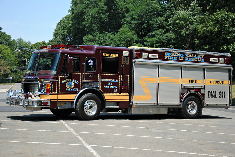 Rockland Hook & Ladder Company 17-Rescue