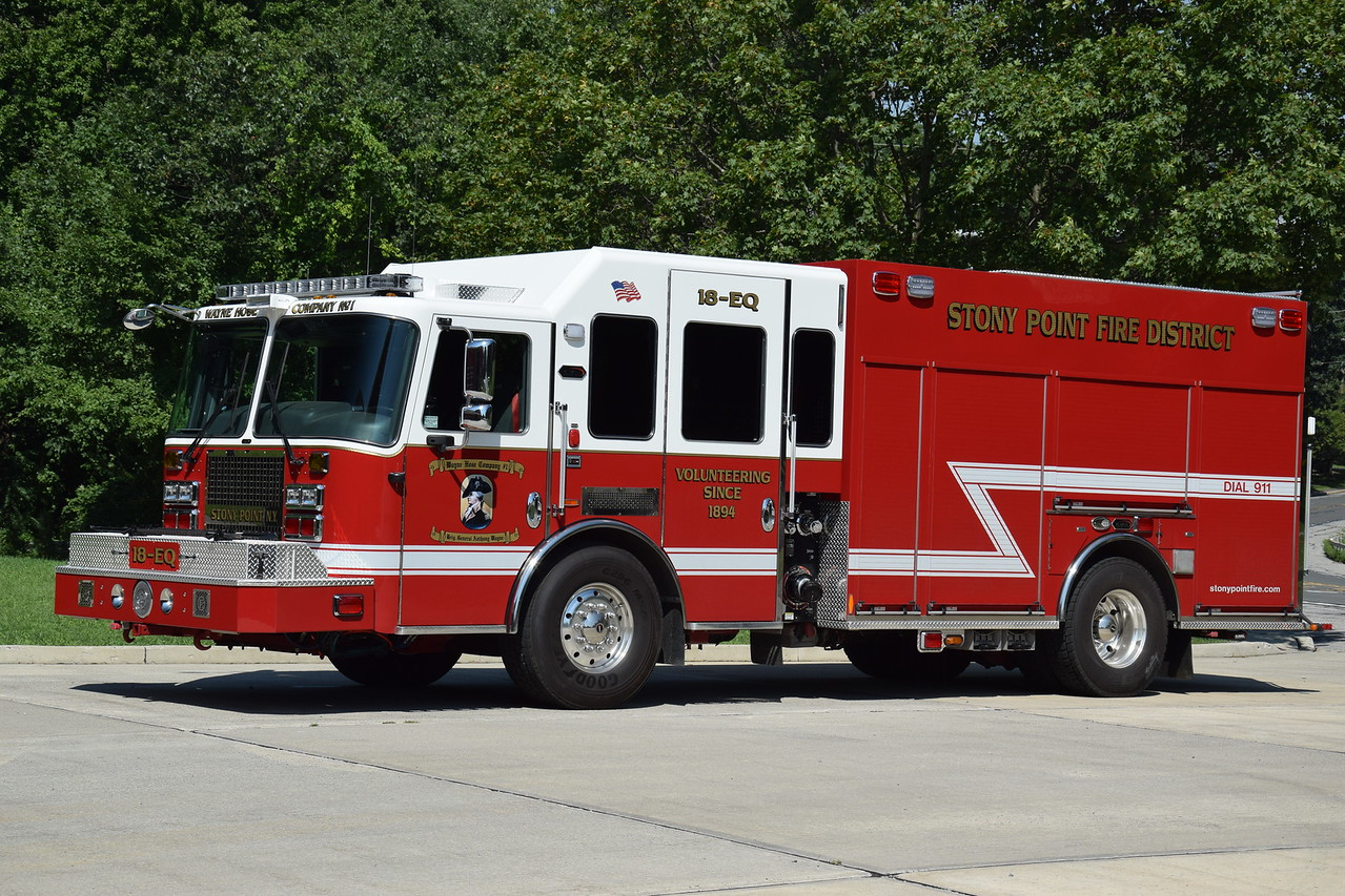 Stony Point Fire Department 18-EQ
