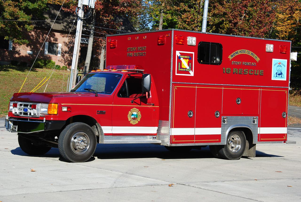 Stony Point Fire Department, Stony Point 18-Rescue