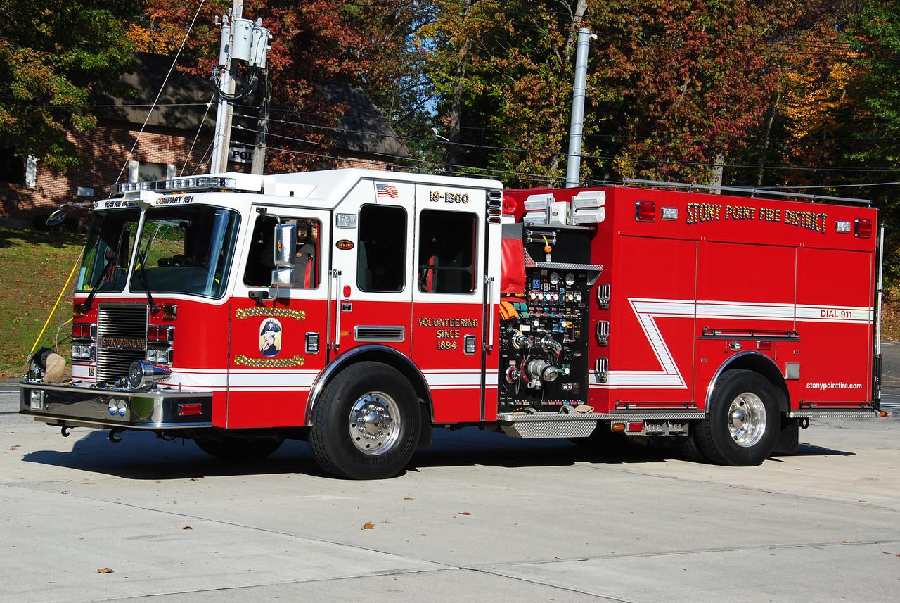 Stony Point Fire Department, Stony Point 18-1500