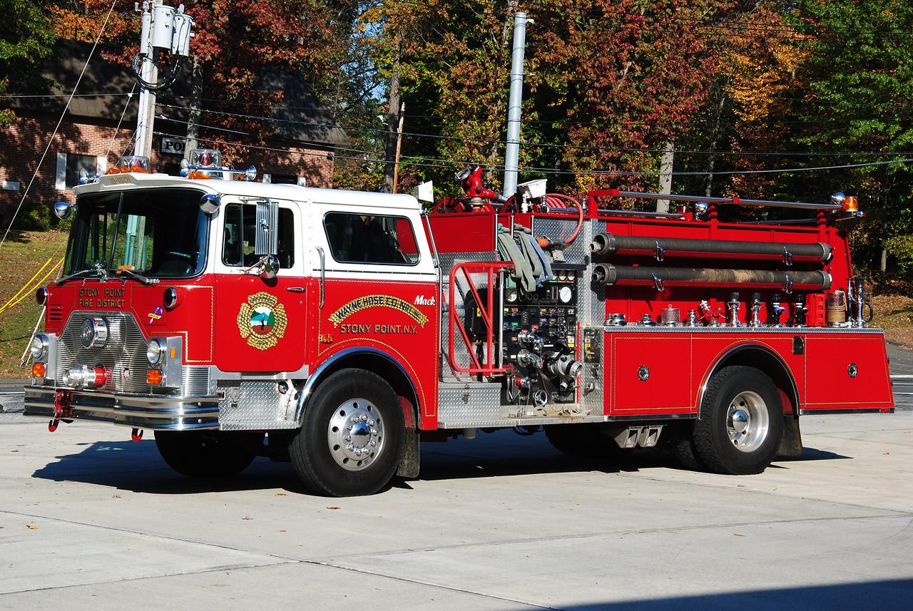 Stony Point Fire Department, Stony Point 18-1501