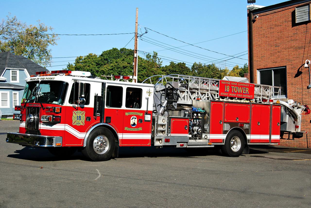 Stony Point Fire Department, Stony Point 18-Tower