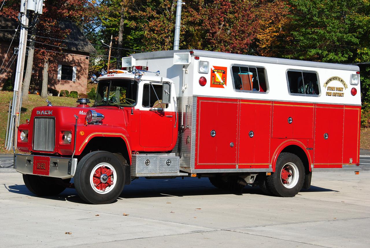 Stony Point Fire Department, Stony Point 18-EQ