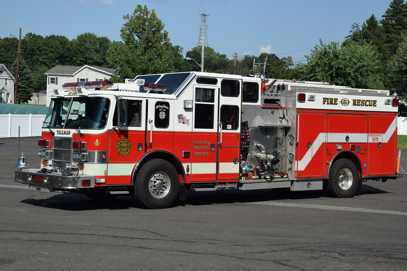 Tallman Fire Department 20-2001