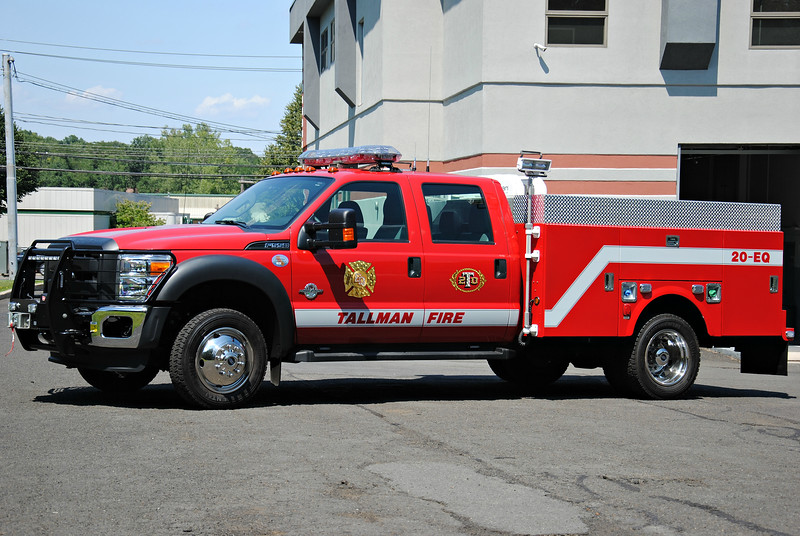 Tallman Fire Department 20-EQ