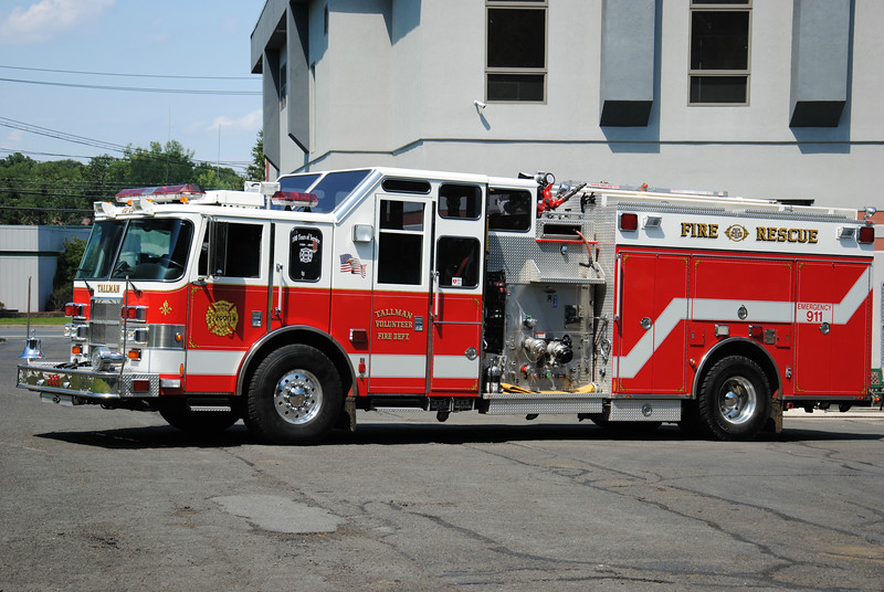 Tallman Fire Department Engine 20-2001