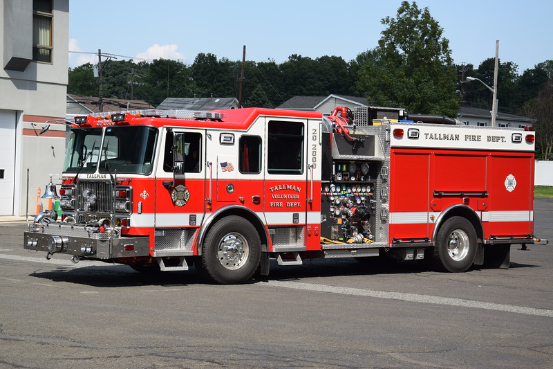 Tallman Fire Department 20-2000