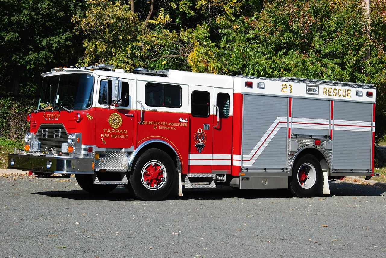 Tappan Fire Department, Tappan 21-Rescue