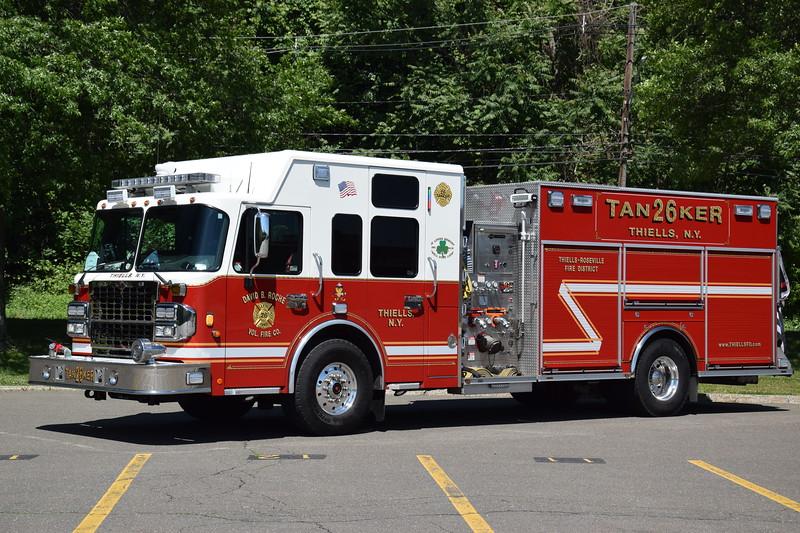 David B. Roche Fire Company 26-Tanker