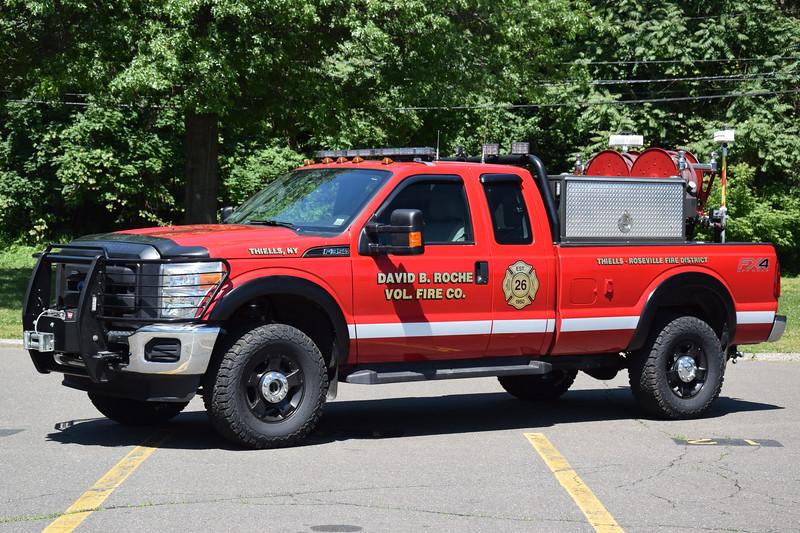 David B. Roche Fire Company 26-Patrol